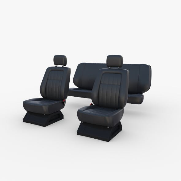 Generic Car Seats Black