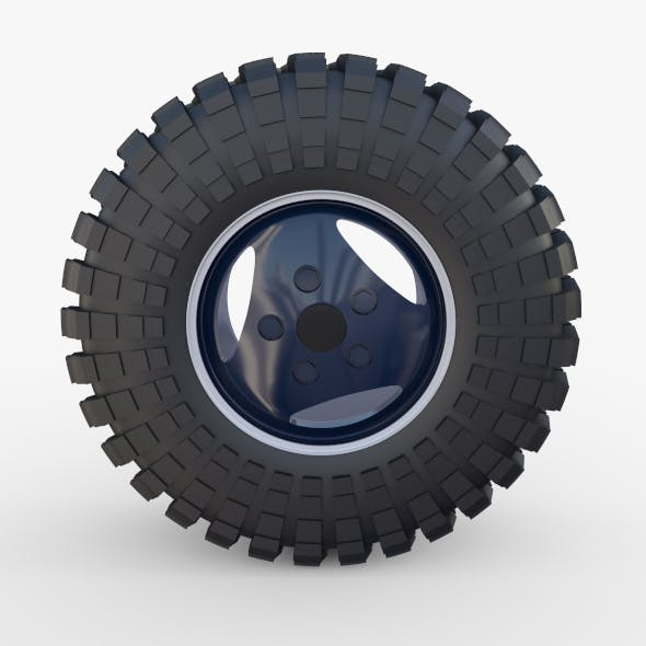 Range Rover Classic Wheel Maxxis Trepador - 3DOcean Item for Sale