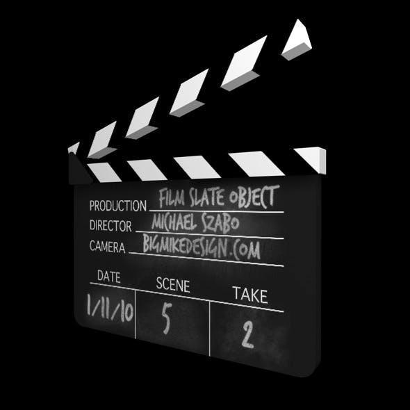 Film Slate Clapperboard