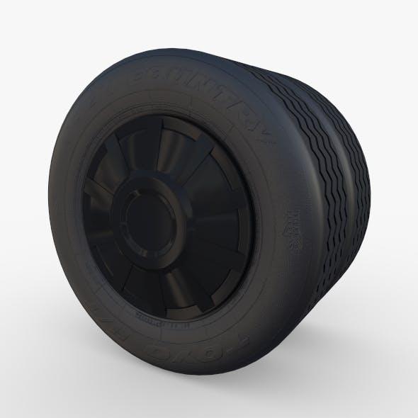 Tesla Truck Wheel 3 - 3DOcean Item for Sale