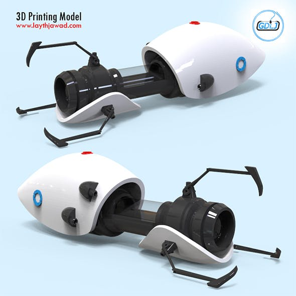 Portal Gun 3D Printing Model