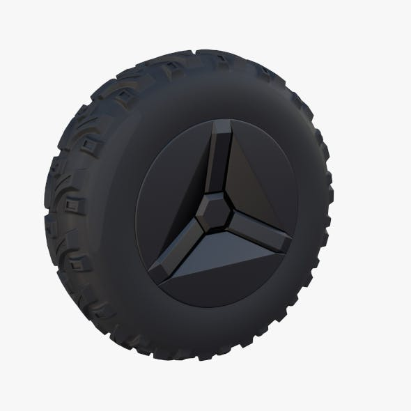 Tesla Cyberquad ATV Wheel 1