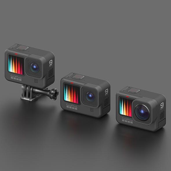 GoPro HERO 9 - 3DOcean Item for Sale