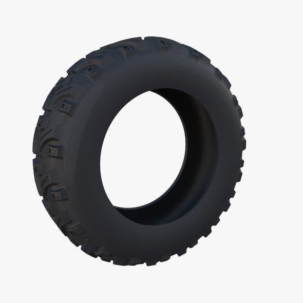 Generic ATV Tire 1 - 3DOcean Item for Sale