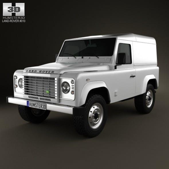 Land Rover Defender 90 hardtop 2011 - 3DOcean Item for Sale