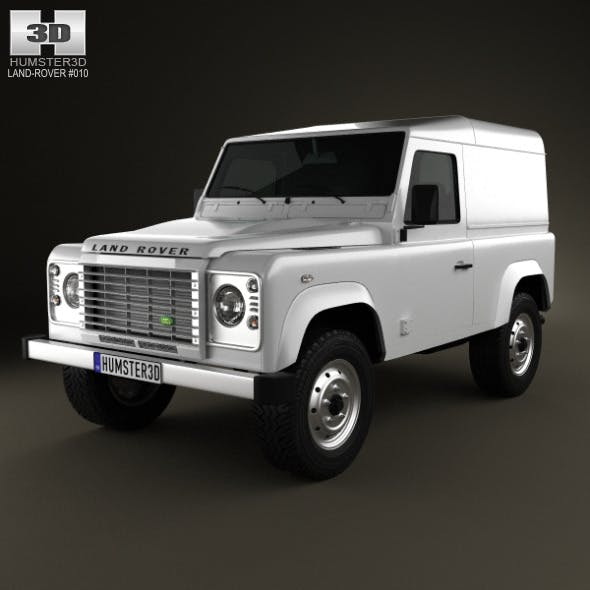 Land Rover Defender CG Textures & 3D Models From 3DOcean