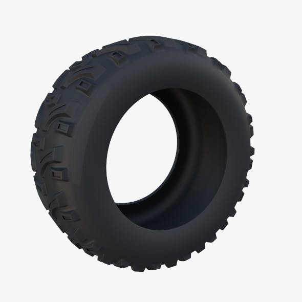 Generic ATV Tire 2 - 3DOcean Item for Sale