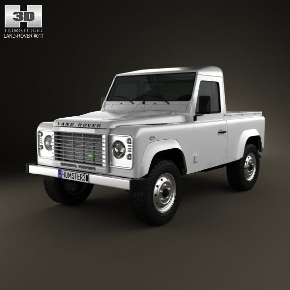 Land Rover Defender 90 pickup 2011