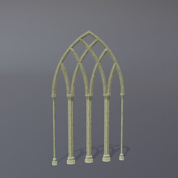 Gothic Arch 03 - 3DOcean Item for Sale