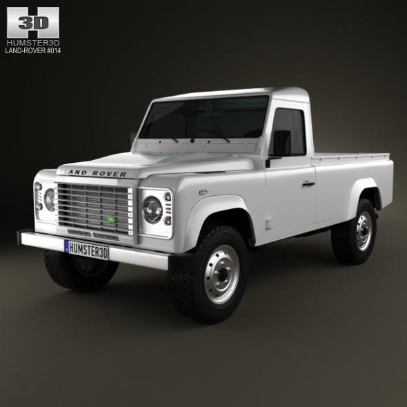 Land Rover Defender 110 pickup 2011 - 3DOcean Item for Sale