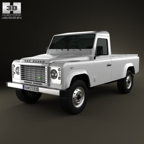Land Rover Defender 110 pickup 2011