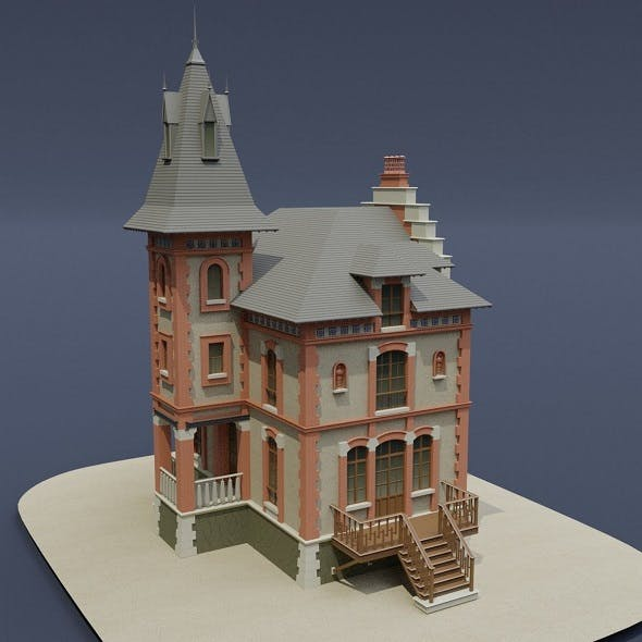 Victorian House 03