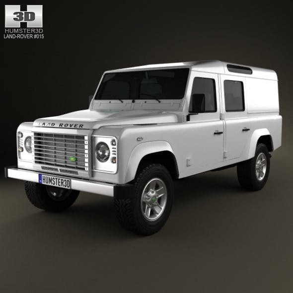 Land Rover Defender 110 Utility Wagon 2011 - 3DOcean Item for Sale