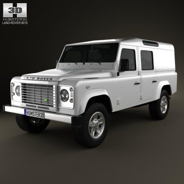 Land Rover Defender 110 Utility Wagon 2011