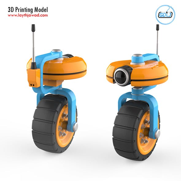 VU Robot 3D Printing Model - 3DOcean Item for Sale