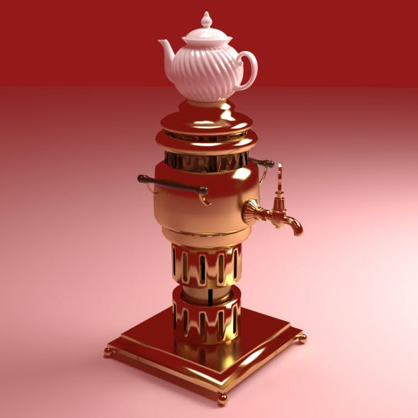 Brass Samovar v2