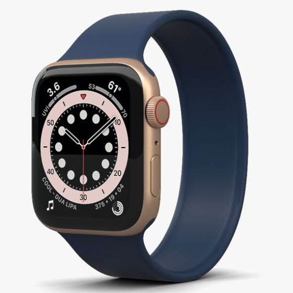 Apple Watch Series 6 44mm Aluminum Gold