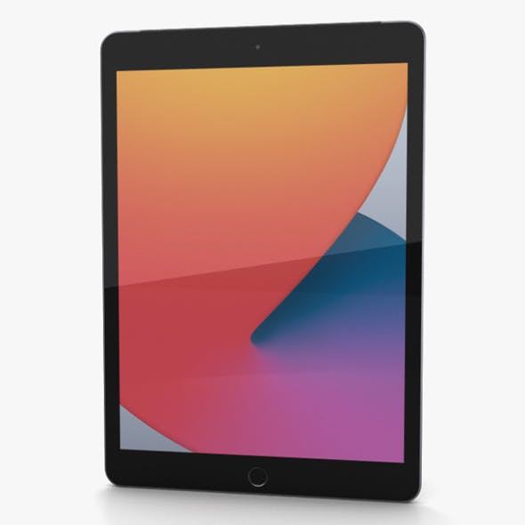 Apple iPad 10.2 (2020) Cellular Space Gray