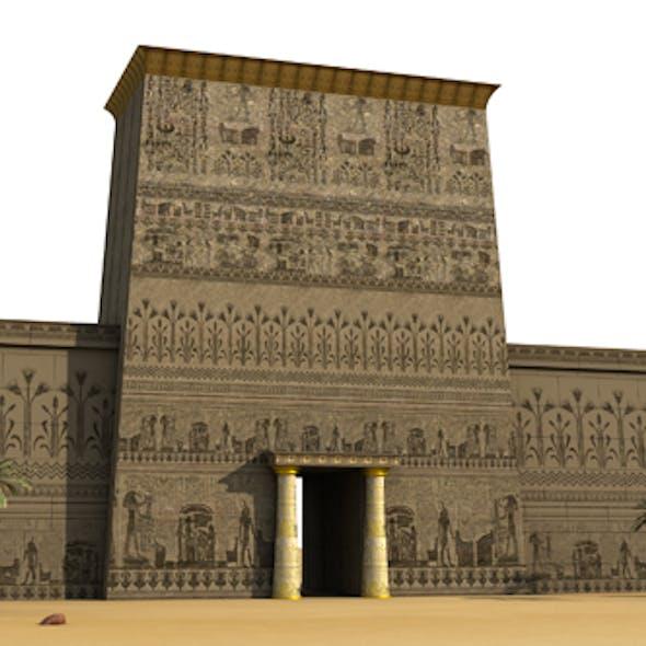 Egyptian Pheronic Sculpture Wall EPSW-02
