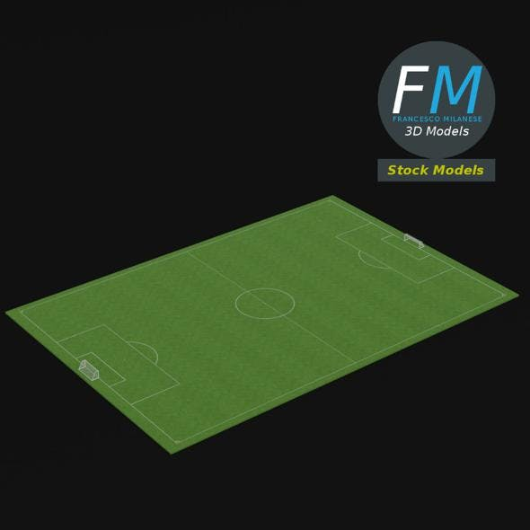 Football soccer field - 3DOcean Item for Sale
