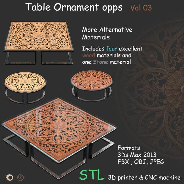 Table Ornament opps Vol 03