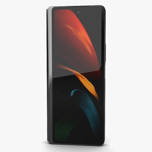 Samsung Galaxy Z Fold2 Mystic Black - 3DOcean Item for Sale