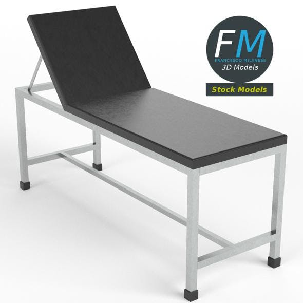 Patient examination table 2 - 3DOcean Item for Sale