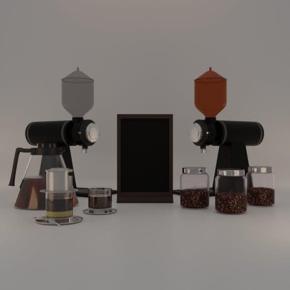 Coffee Shop Menu and Brand