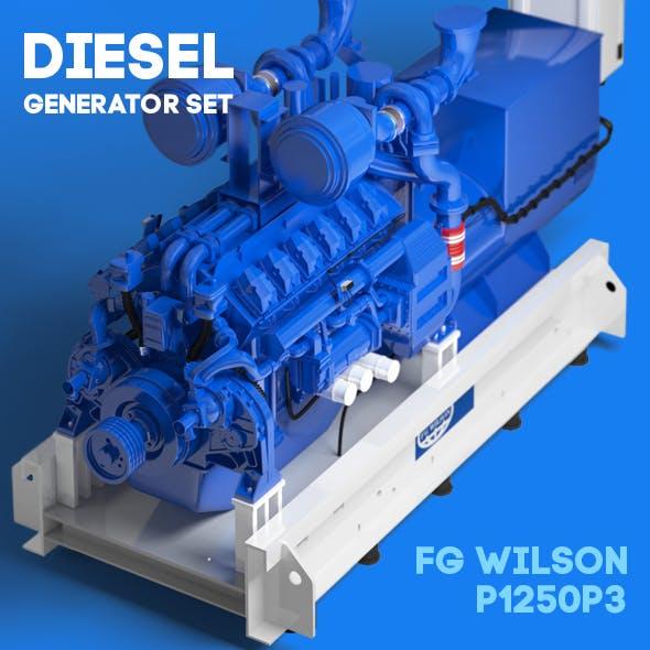 Diesel generator set FG Wilson P1250P3