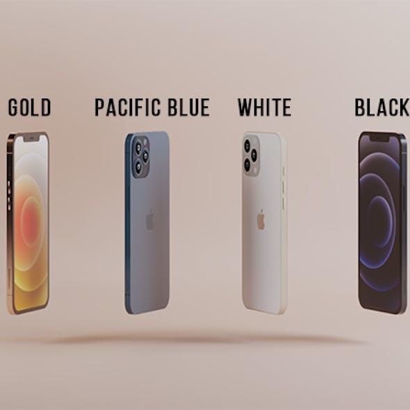 Iphone 12 collection (Pro; Pro max; Mini;) (corona renderer)