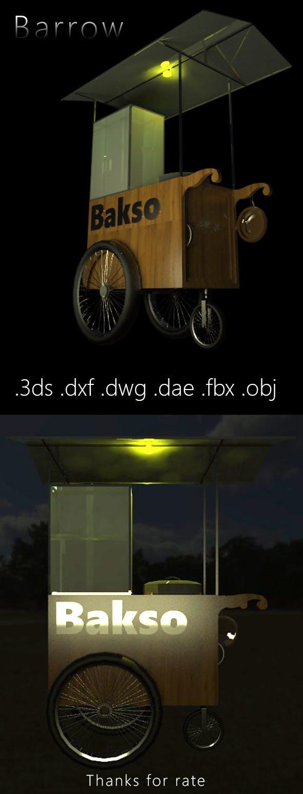 3D Design of Barrow - 3DOcean Item for Sale
