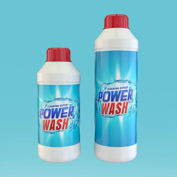 Detergent Bottles Pack