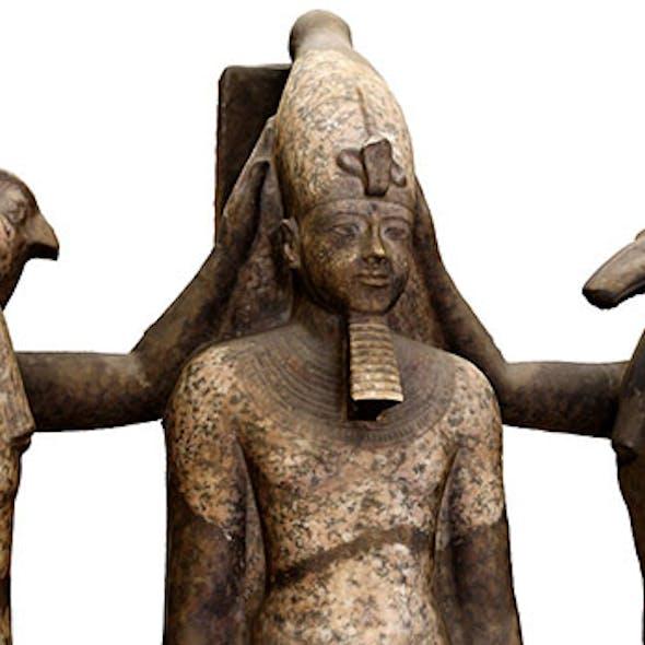 Egyptian King Ramses iii Statue
