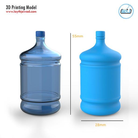 Big Plastic Bottle 3D Printing Model - 3DOcean Item for Sale