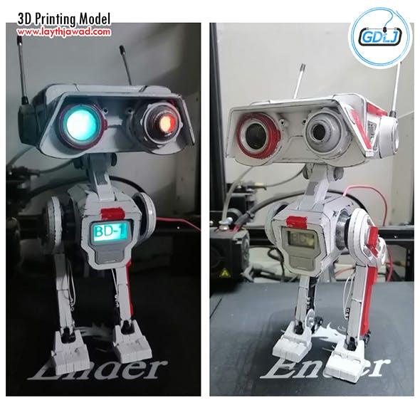 JFO BD-1 Star Wars 3D Printing Model