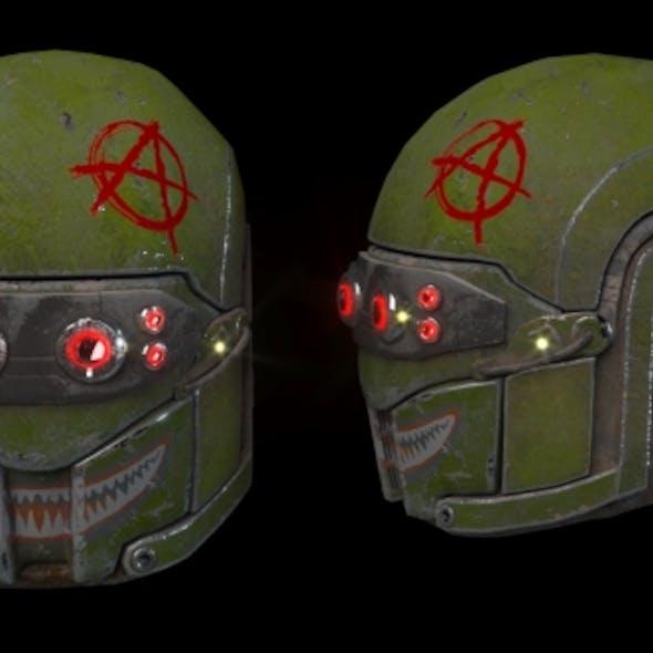 Mk V Legio Tactical Helmet Outlaw