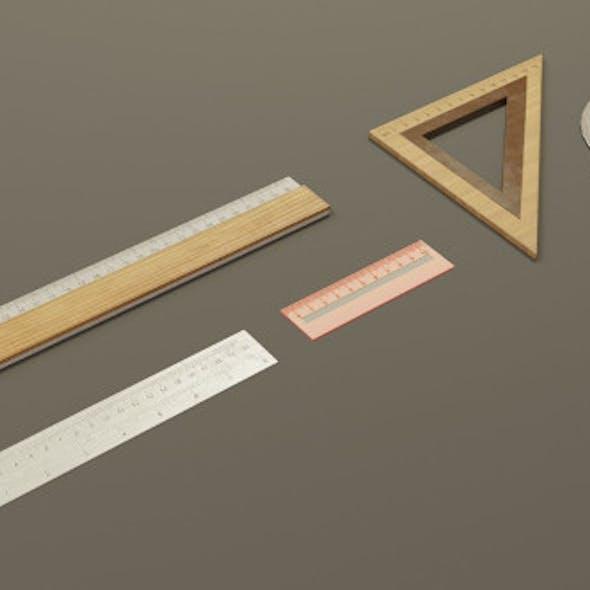 Math Geometry Tool Set 3D Model