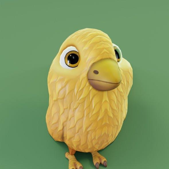 Cartoon Chicken 3D Model
