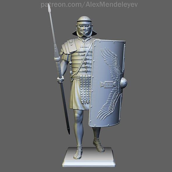 Roman Legionary 3D print model