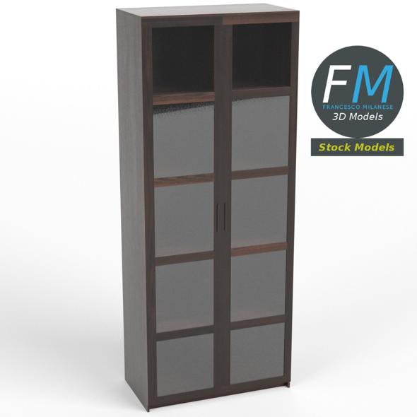 Window cabinet bookcase - 3DOcean Item for Sale