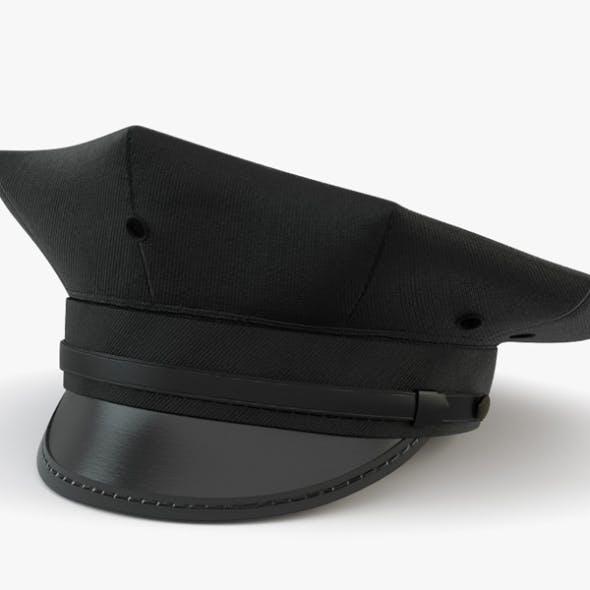 Eight Point Police Cap