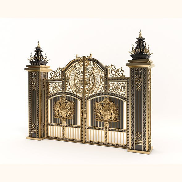 Classic Mansion Gate