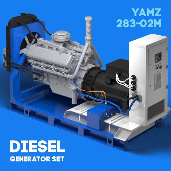 Diesel generator set Yamz 238