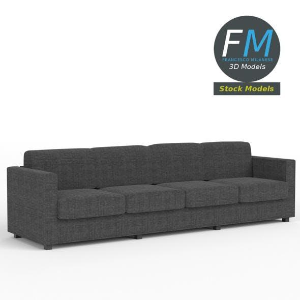 4 seat sofa - 3DOcean Item for Sale
