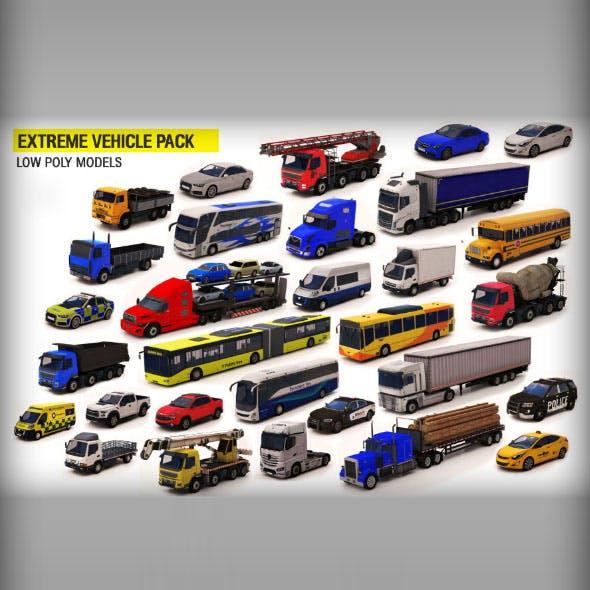 Vehicle Pack 3D Model