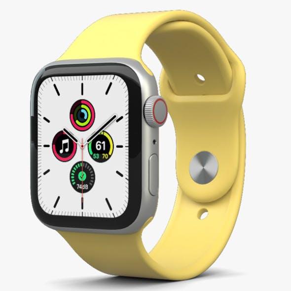 Apple Watch SE 44mm Aluminum Silver - 3DOcean Item for Sale