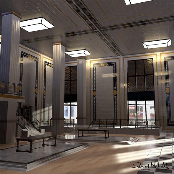 Luxury Shop Interior MODULAR - 3DOcean Item for Sale