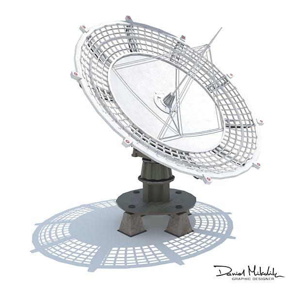 Huge Satellite Dish - 3DOcean Item for Sale