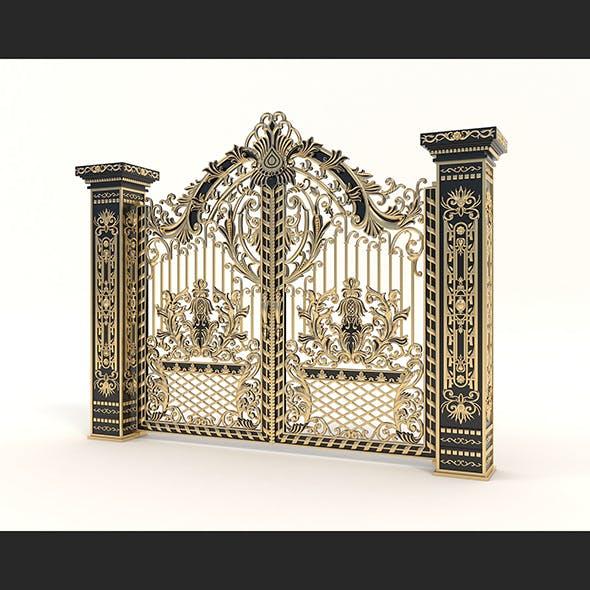 Classic Mansion Gate 2