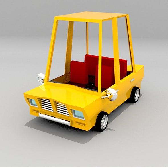 Past Poly Car